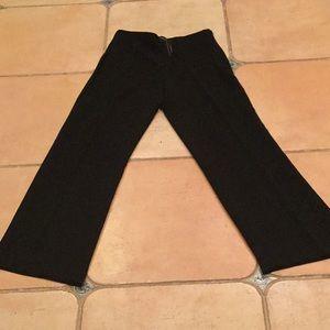 Ladies black Talbots dress slacks. Size 6